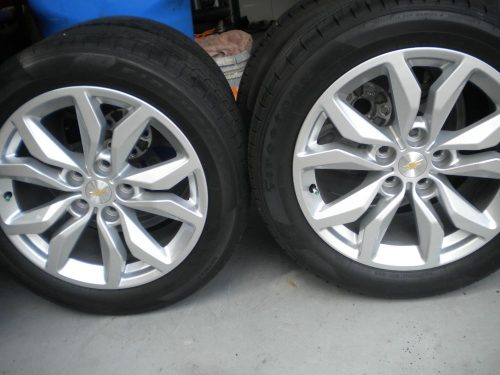 2017 Chevrolet 18 Oem Impala Rims And Tires Less Than 400 Miles