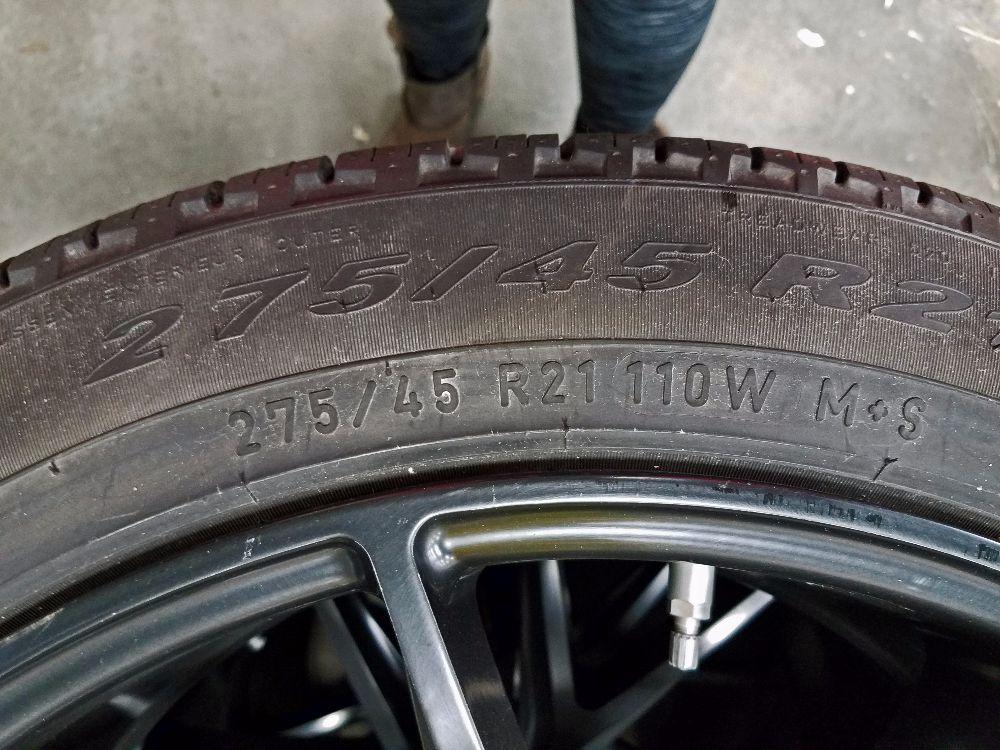 Range Rover wheels size