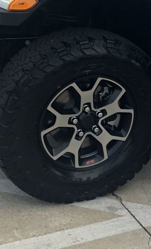 jeep jl rubicon rims  tires  sell  tires