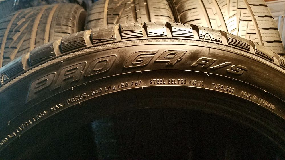 Falken Pro G4 A S >> 4 FALKEN 100V XL BSW PRO G4 Used Tires (Less than 6K miles) - Sell My Tires