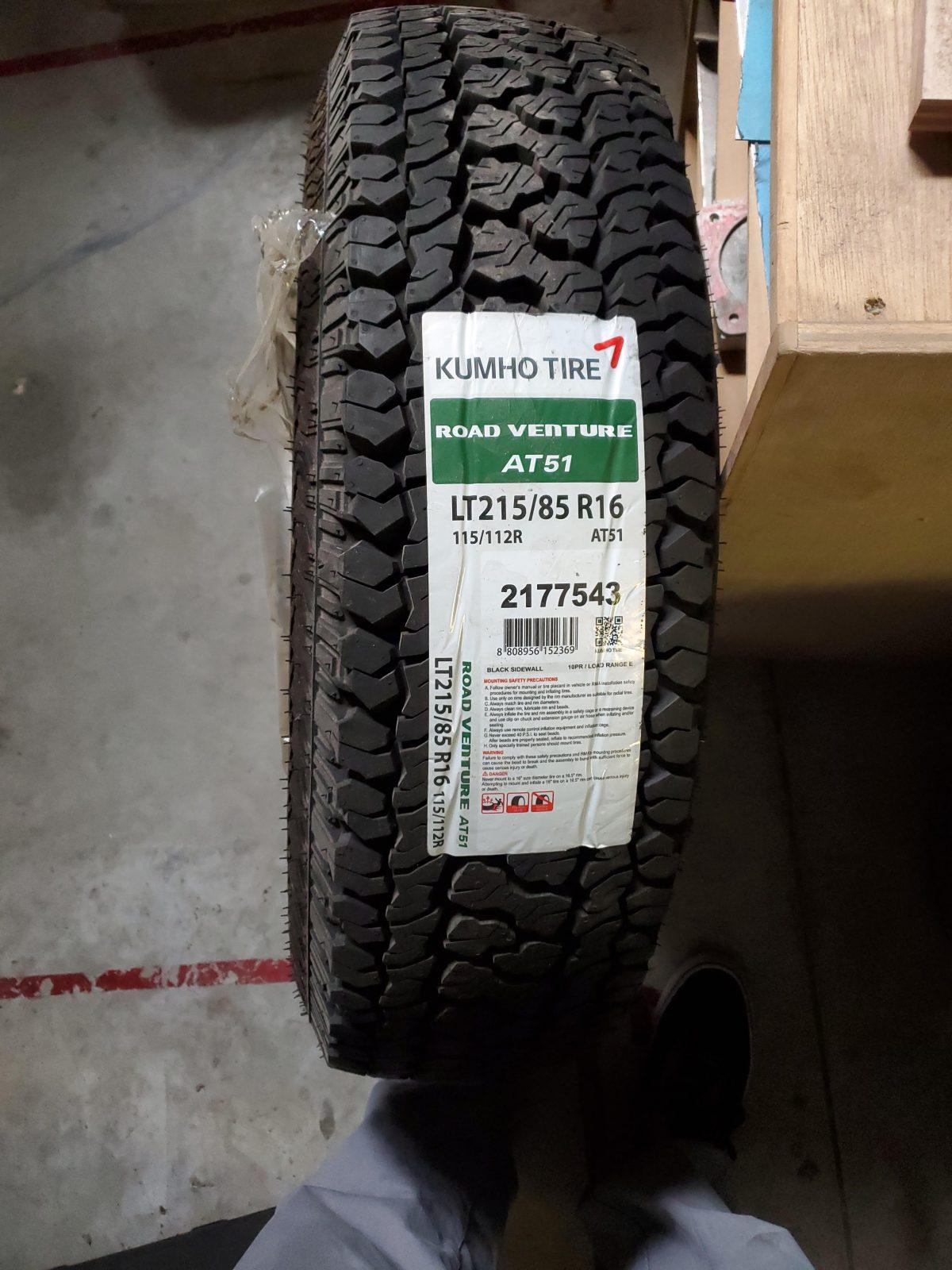 Kumo Road venture AT51 Tire