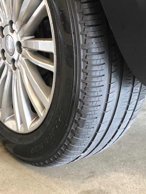 LANDROVER TIRES 2 20INCH