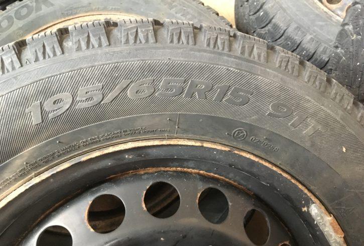195 / 65 R15 Winter Tires & Rims - Image 4