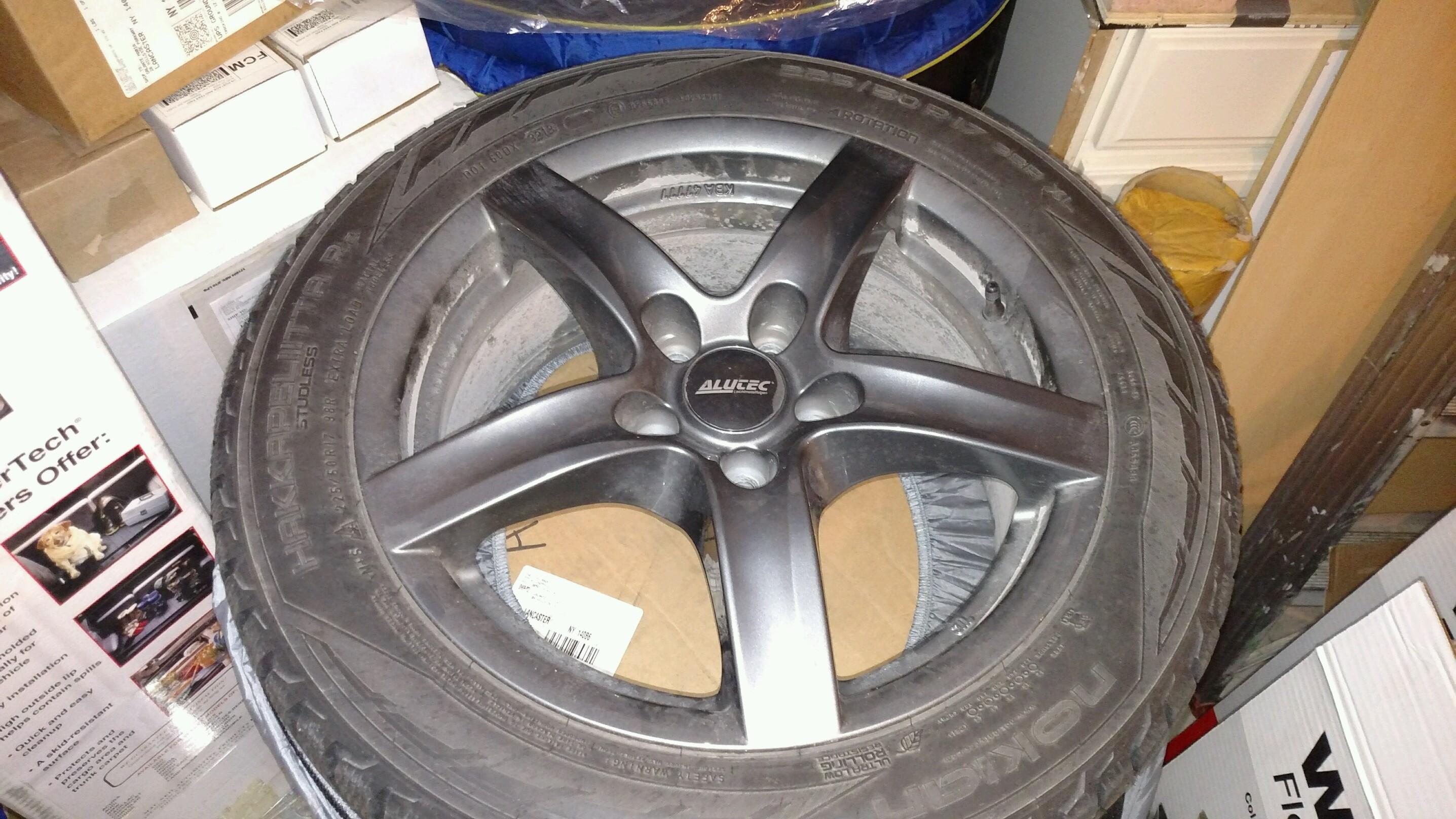 Nokian Hakkapeliitta R2 >> Mercedes C300 nokian hakkapeliitta r2 winter tires with ...