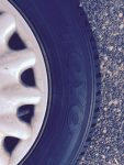 Saab rims and tires 4