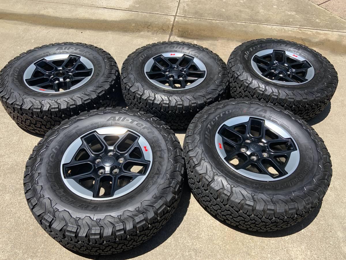 rubicon tires