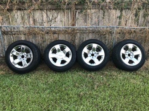 20 Inch Oem Wheel And Tire Package 2014 Chevy Silverado Ltz Cooper