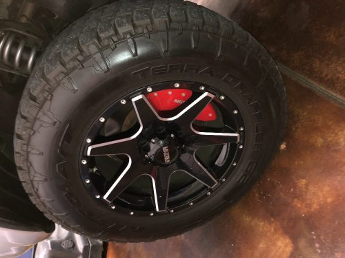 33 285 65r18 Nitto Terra Grapplers And 18 Ultra Motorsports Wheels